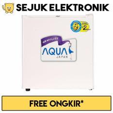 Sanyo AQR-D50F Aqua Kulkas 1 Pintu Portable 140 Liter - Putih Khusus Jadetabek