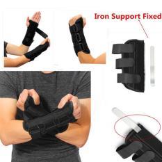 Sarung Tangan Ortopedi Cidera Patah Tulang + 3 Besi Pelat Kaku