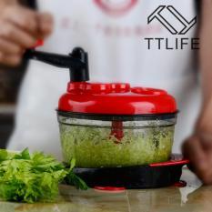 SDP Bertenaga Tangan Food Processor Baby Multi Sayuran Chopper dengan Suction Base dan Air Throw-off Keranjang Daging Grinder Cepat Salsa Maker Makanan Mixer Blender untuk Memotong Daging Buah Sayuran Kacang Ramuan Bawang Garlics