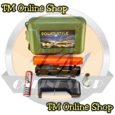 Senter Police Swat Mini Led Zoom Fokus T6 Power Style C-89 99000 Watt - 5Dbaaa