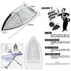 Sepatu Teflon Setrika Uap Listrik Silverstar - Magic Ironing Shoe