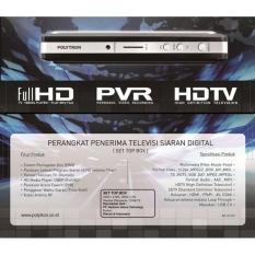 Set Top Box Dvb-T2 Polytron Pdv 500T2 Digital Tv Receiver Tuner Pdv500 - Adae79