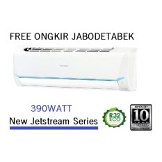 Sharp AH-A5SAY  New Jetstream Series 390WATT Air Conditioner 1/2PK (OUTDOOR DAN INDOR ) - Khusus JABODETABEK