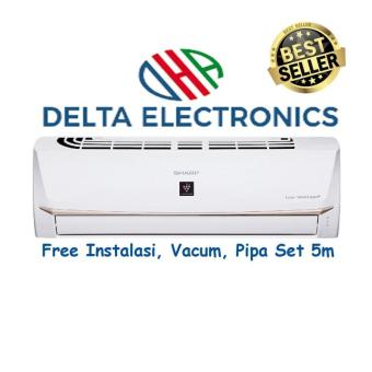 Vacum + Pipa Set 5M. ac sharp low watt Sharp AH-