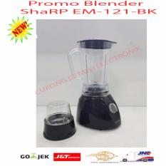 Sharp Blender - EM-121 BK - Hitam-Promo