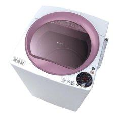 Sharp ES-M806-WR Mesin Cuci Top Load 8Kg White Red - Khusus JABODETABEK