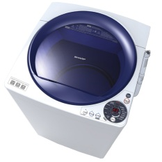 Sharp ES-M906P-WB Mesin Cuci Top Load 9Kg White Blue - Khusus JABODETABEK