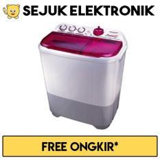 Sharp ES-T85CR-PK Mesin Cuci 2 Tabung 8 Kg - Pink (JADETABEK ONLY)
