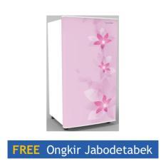 Sharp Kirei Kulkas 1 Pintu SJ -N166F - FP - Pink - Khusus Jadetabek