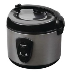 Sharp KS-N18MG-SL (Rice Cooker) Rice Cooker - Silver