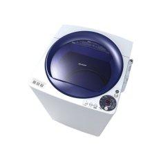 Harga Sharp Mesin Cuci Top Loading 9 Kg Putih Es M905P Wb Asli Sharp