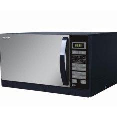 SHARP microwave grill hitam R728(K)