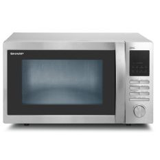 Sharp Microwave Oven R-730IN ST - Silver