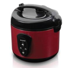 Harga Sharp Rice Cooker 1 8 Liter Red Ksn18Mgrd Lengkap