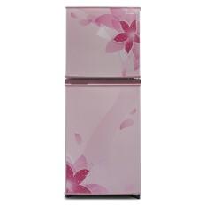 Sharp SJ-236ND-FP (Refrigerator 2 Door Flower Pattern Pink) Kulkas 2 Pintu - Pink Pengiriman Khusus Surabaya