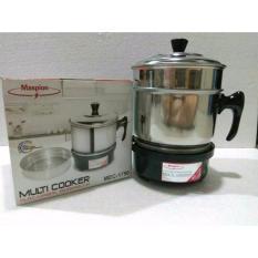 Shoppesek Maspion MEC 1750 Multi Cooker Panci Listrik Serbaguna