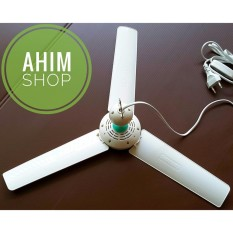 Model Shukaku Mini Fan 8 Watt Kipas Angin Gantung Baling Baling Adem Sku 3008 Putih Terbaru