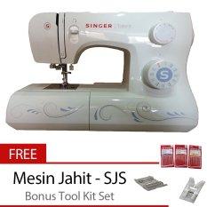 Spesifikasi Singer 3323 Talent Mesin Jahit Portable Bonus Tool Kit Bagus