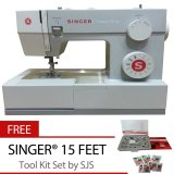 Jual Singer 4411 Heavy Duty Mesin Jahit Portable Bonus Sjs 15 Feet Tool Kit Original