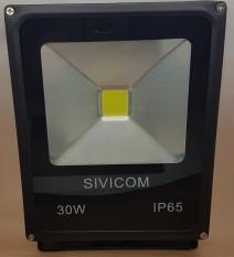 SIVICOM Floodled 30w / Led Sorot Waterproof IP65 (TIPIS) / Lampu Sorot