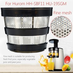 Slow Juicer Fine Mesh Filter Lubang Kecil untuk Hurom HH-SBF11 HU-19SGM Spare Parts-Intl