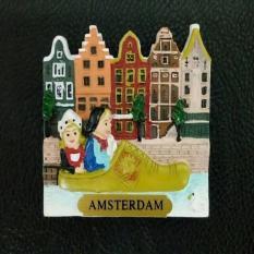 Souvenir Magnet / tempelan kulkas Amsterdam dari negara Holland