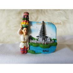 Souvenir Tempelan Magnet Kulkas Bali Denpasar Indonesia - 9539E3