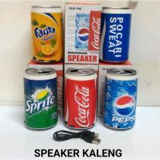 Speaker Kaleng Motif Random Ya Bos Tolong Jangan Dikomplain - 53977E
