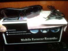 Spy kacamata Perekam video + foto + audio + ORIGINAL BOX