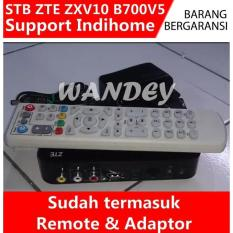 Stb Zte Zxv 10 B 700 V5 Include Remote & Adaptor Bisa Untuk Indihome - Ab73be