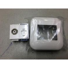 Stop Kontak Tv Plus Data Cat 5 Panasonic - Dda7c7