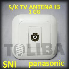 Stopkontak Stop Kontak S/K Tv Ib Panasonic Wej2501 / Tanam Tembok Sni - 53A66E