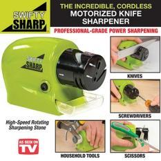 swifty sharp / Alat Pengasah Pisau Otomatis / Alat Asah Pisau Gunting