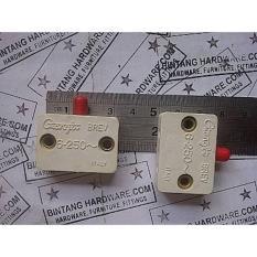 Switch Saklar Lampu Lemari Pintu Sliding Geser Kotak Putih Plastik - 959Bd5