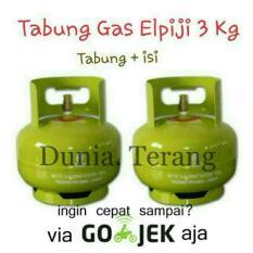 Tabung Gas 3Kg / 3 Kg Baru + Isi (Full)  Khusus Jne - Ac39d3