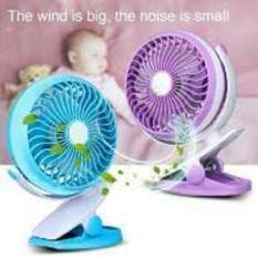 Teckyo mini fan 05 Kipas Angin Mini Jepit kecil cas charge Rechargable