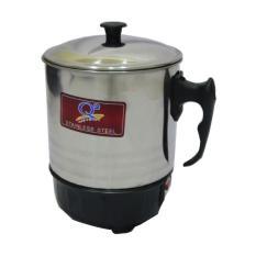 Teko Pemanas Air mug listrik / panci listrik Stainless Steel 11 cm