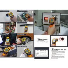 Tembak Ukur Suhu Jarak Jauh tanpa Sentuh Laser Infrared 950 C + Koper