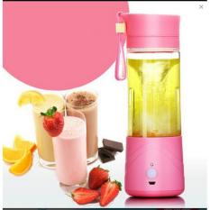Jual Terbaru Dan Terlaris Shake N Take Portable Blender Juice Cup Mini Electric 400Ml Rechargeable Branded Original