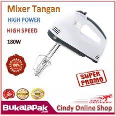 TERBARU Mixer Tangan 7 Kecepatan 180W