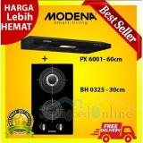 Obral Terbaru Paket Kompor Tanam Modena Bh 0325 2 Tungku Cooker Hood Px 6001 Harga Pabrik Murah