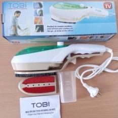 Tobi Setrika Uap Portable Serbaguna - Hijau