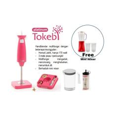 Tokebi Platinum Pink BONUS Tokebi Mini Blender