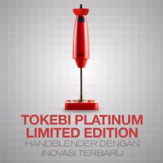 Tokebi Plus Hand Blender - Merah