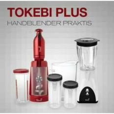 Tokebi Plus Hand Blender YELLOW AND RED Bonus Power Blender