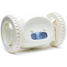 Jual Tokokadounik Running Alarm Clock Putih Tokokadounik Original