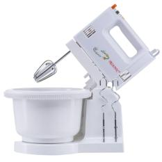 Trisonic Stand Mixer Com Mixer Berdiri - Putih