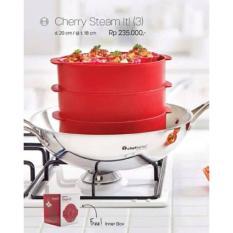 Beli Tupperware Cherry Steam It 3 Susun