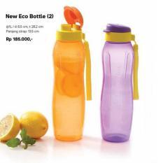 Tupperware Eco Bottle 1 Liter Flip Top Tempat Minum Botol 1Lt Lt L - 56Bebd