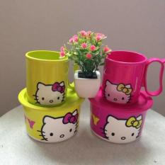 Tupperware Hello Kitty Snack Time (Ecer) - Cca35a